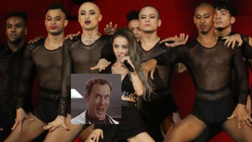有种妖娆叫蔡依林男伴舞,透视上衣黑色超短裤,140万美元值!