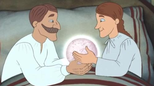 穷渔夫捞到块石头,带回家竟变成大钻石,结果他却送给了国王!