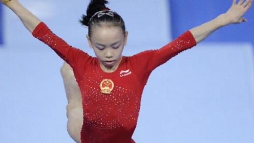 1米6的体操美少女,9个月拿两冠军,19岁退役,如今美得惊艳