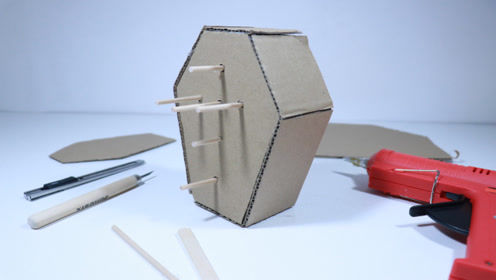 DIY手工魔术箱,原来那么简单,比想象中神器