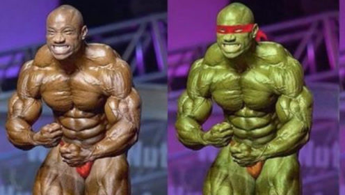 """健美界""""忍者神龟""""!肌肉维度逆天,50岁仍挺进奥赛前3名!"""