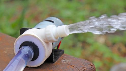 教你自制一台强力水泵 使用775电机