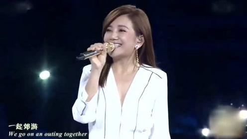 梁静茹承认离婚后首秀 演唱经典三首歌曲状态极佳