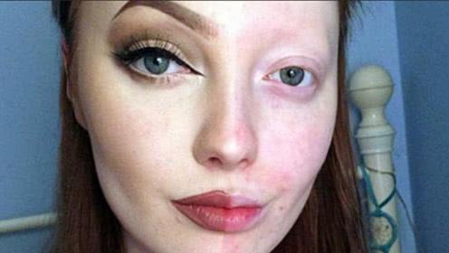 长期化妆和素颜的女生,10年后皮肤有什么差别?结果出人意料