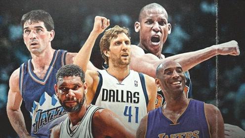 在一支球队效力至少18年有多难?NBA史上仅5人做到