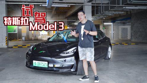 开着特斯拉Model 3自动驾驶跑中环,它真的能自己跑完吗?