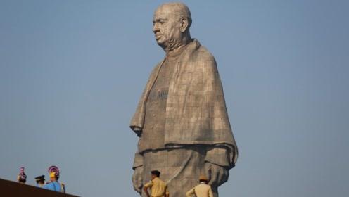 三餐温饱都困难,印度百万民众募捐299亿,只为造全球第一雕像