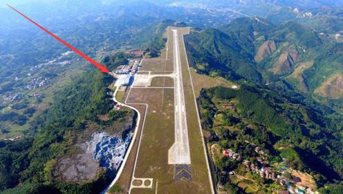 中国又一超级工程征服世界!300米悬崖上建机场,耗时6年时间
