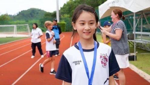 田亮女儿显现体育基因,11岁身高直窜1米6,网友:我酸了