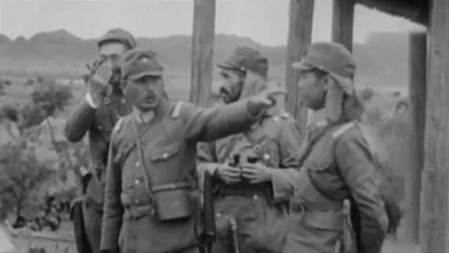 日本少将视察前线,当副官向他敬礼时,他头部已中了三枪