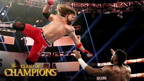 2019冠军争霸大赛 为保全美冠军AJ硬地送对手斯泰尔斯冲击