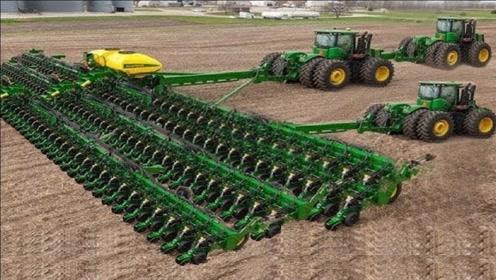 德国打造的3台农业机械,这机械水平简直让人大开眼界