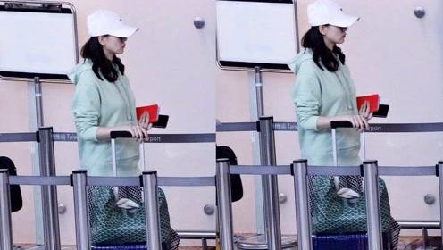 复工在即?刘诗诗返京后当天就去了公司 当妈后还是好活泼