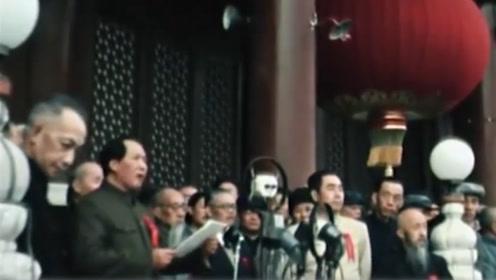 俄罗斯珍贵纪录片:开国大典 政治局会议彩色画面问世