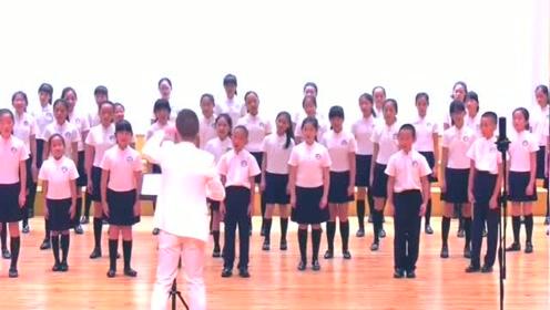 童声合唱团合唱《时间的远方》唯美动听