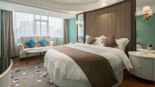 """为什么情侣酒店的床,全都是""""圆床""""?酒店太懂事了!"""