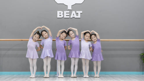 幼师必看!少儿中国舞《小飞机》学员课堂练习