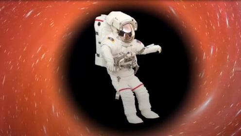 黑洞里面是什么样,人被吸进去后,可以去到另一个宇宙吗?