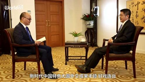 澎湃新闻独家专访外交部副部长乐玉成视频