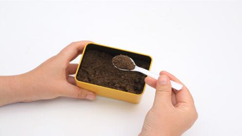 咖啡渣还是个宝,放一点在冰箱里,解决了家家户户都困扰的难题