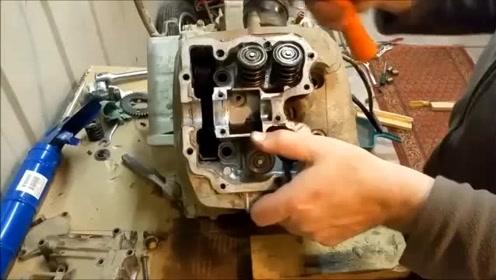 本田XL250修复翻新全过程欣赏拯救 经典老车
