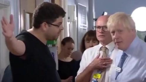 约翰逊又遭怼!一病患父亲:你来这只是为了在媒体面前露脸!