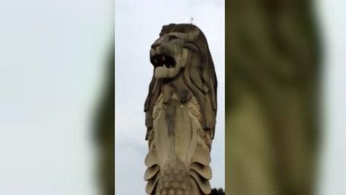 新加坡狮子标志景点将被拆除 或为给新项目让道