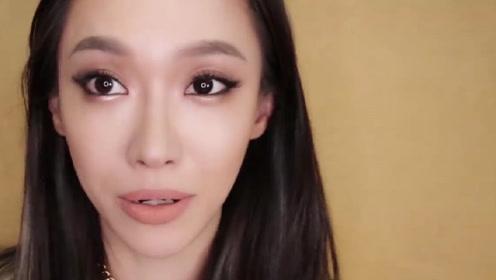 10分钟妆容教程,烟熏妆 - 裸瞳 + 猫眼眼线妆