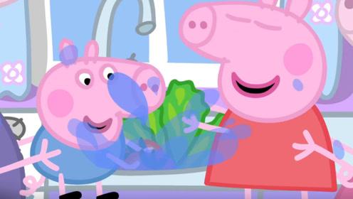小猪佩奇不爱吃早饭 猪妈妈让佩奇自己做一次早饭 玩具故事