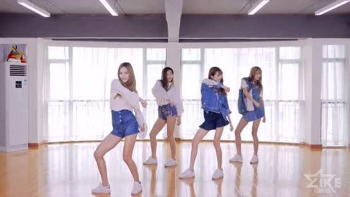 L.I.K.E《单身盛事》练习室舞蹈,妹纸们的大长腿可以说是十分养眼了!