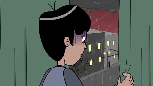 男孩离家出走被面具男跟踪,本以为是爸爸恶作剧,发现真相惊呆了