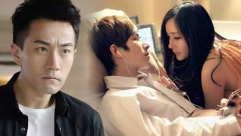 杨幂怀孕吻戏也不用替身,刘恺威在旁边不介意,男演员:没压力