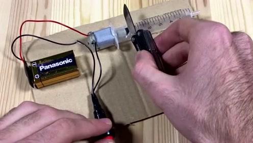 神奇的电动磨刀器,这样制作简单好用,再也不怕刀具会钝了!