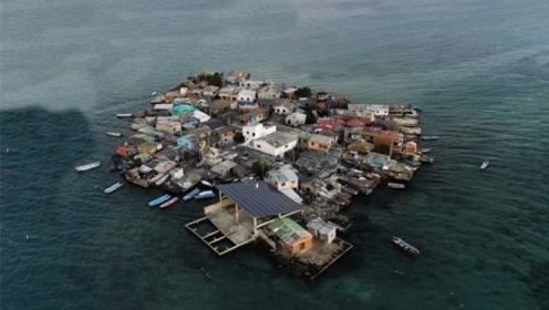 最拥挤的小岛,面积仅0.012平方米,却住着1200人!