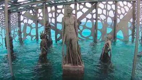 全球第一个海底珊瑚馆,艺术家在海底建造了一个世界奇迹!