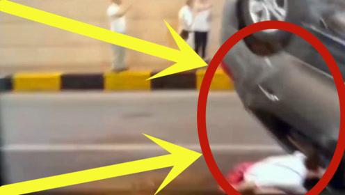 隧道发生车祸,视频车慢速行驶看热闹,3秒后在想跑还来得及吗?