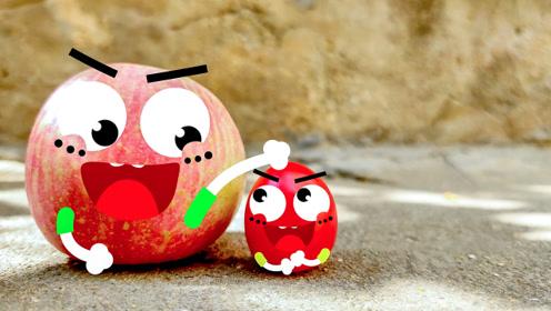 会说话的西红柿和板凳,萌趣可爱爆笑动画