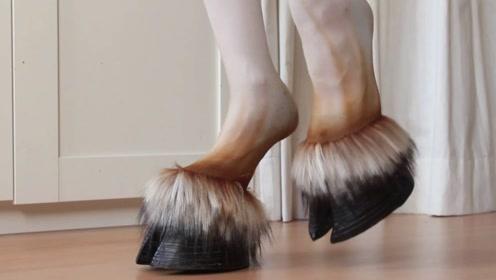 """日本最新一款""""马蹄鞋"""",却遭到女性疯狂抢夺,看不懂的时尚!"""