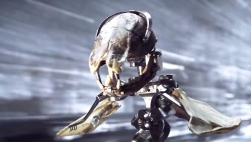 外国网友花10年制作科幻短片!生物灭绝,化石机械物种主宰地球