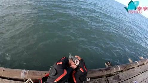 海钓黑鲷鱼,一直在连竿,狂咬的节奏,好钓点