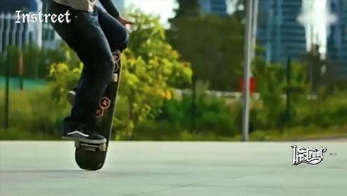 观看滑板的自由式玩法,真的是一种享受