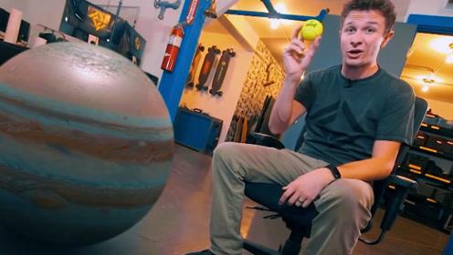 宇宙到底有多大?国外小伙用3D技术还原全部场景,对比太强烈!