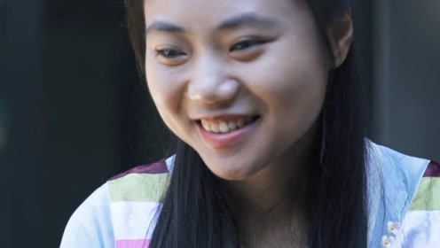 中国女孩独自完成这项挑战 令海外网友感动不已