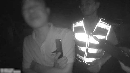 刚拿回被扣驾照又酒驾 还抗拒民警酒精测试 温州一司机被刑拘
