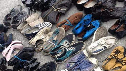 不穿的旧鞋子扔掉太浪费,姑娘这样利用太聪明了,实用美观还省钱