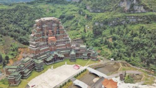 """藏在贵州大山里的""""豪宅"""",24层高99.9米,这房子不简单!"""