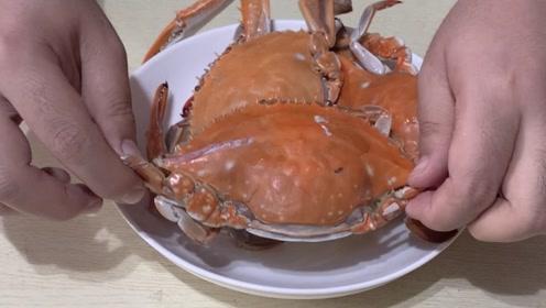 蒸螃蟹看似简单,原来也是有技巧的,教你挑螃蟹蒸螃蟹的好方法
