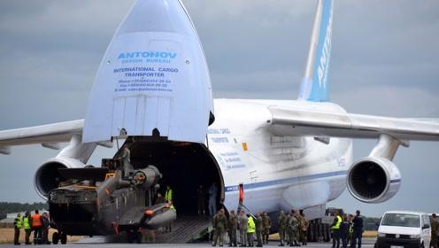 600多吨的飞机你见过吗?是世上最重的飞机,中国有1个机场可起降