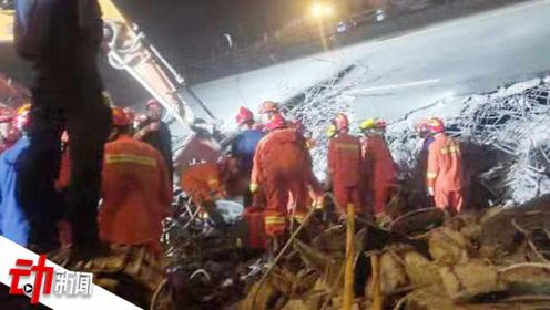 无锡高架侧翻事故救援10小时:填土砸桥 天明前最后一名伤者救出