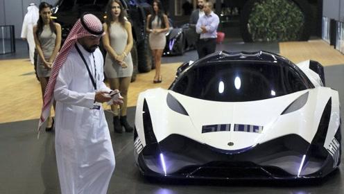 """""""全球""""绝版的超级跑车!保守估价4亿元!停在迪拜王子的车库"""